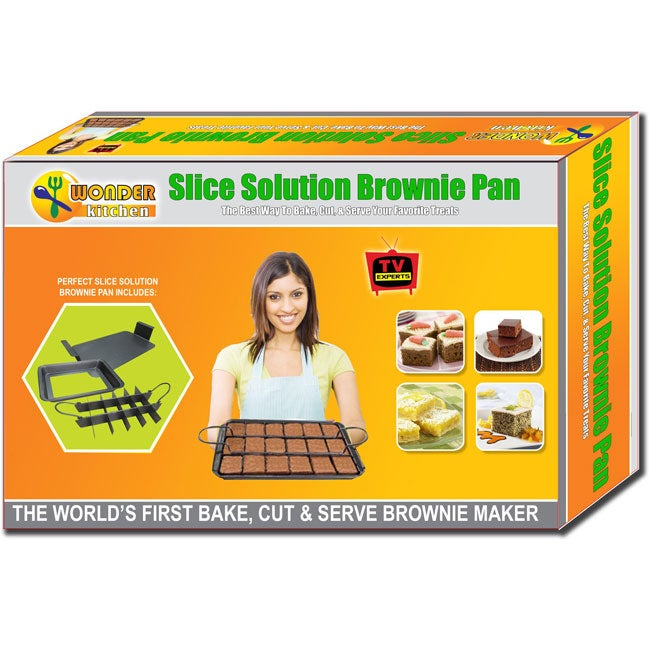 As Seen on TV Perfect Portion Solution Brownie Pan Deluxe Set