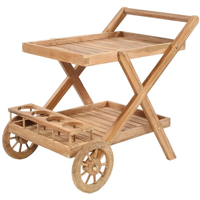 Highland Taylor Teak Tea Trolley