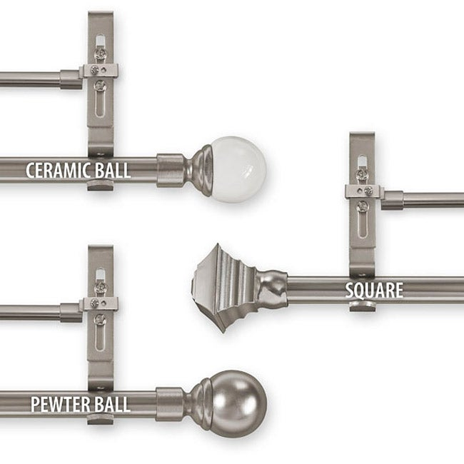 3 piece curtain rod instructions