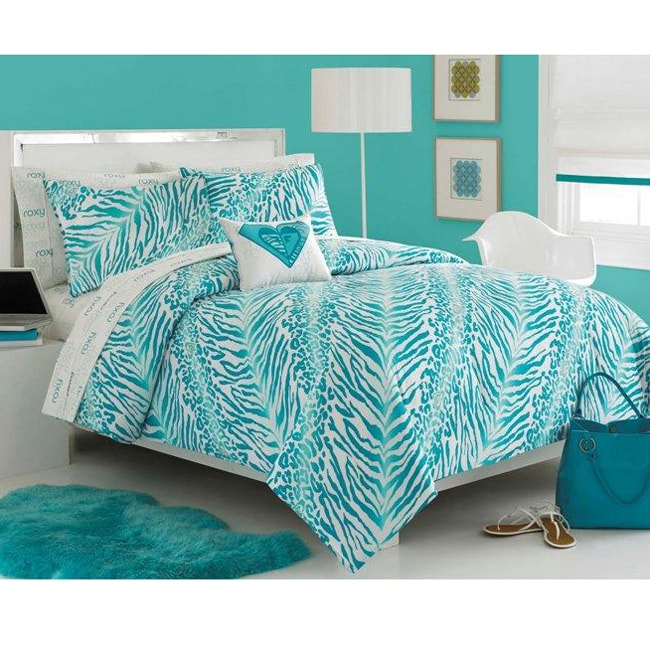 Roxy Rebel 8-piece Queen-size Bed in a Bag with Sheet Set