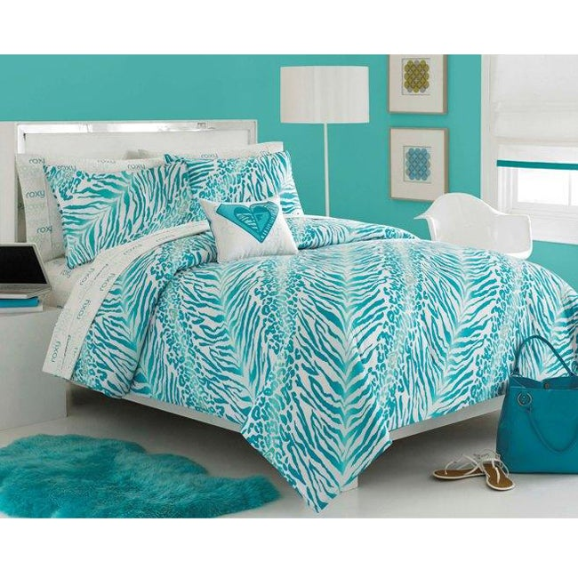 Roxy Rebel 6-piece Twin XL-size Bed in a Bag with Sheet Set