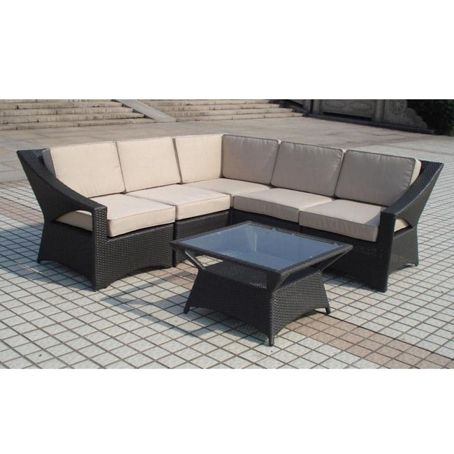 Outdoor Patio Furniture Savannah Ga: Savannah Classics Aberdeen Resin Wicker Outdoor Furniture