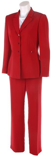 Tahari Petite Red Pant Suit