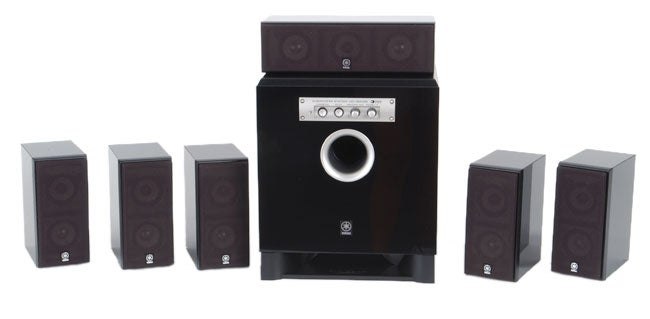 Yamaha ns p436 home cinema 6 1 speaker package for Refurbished yamaha speakers