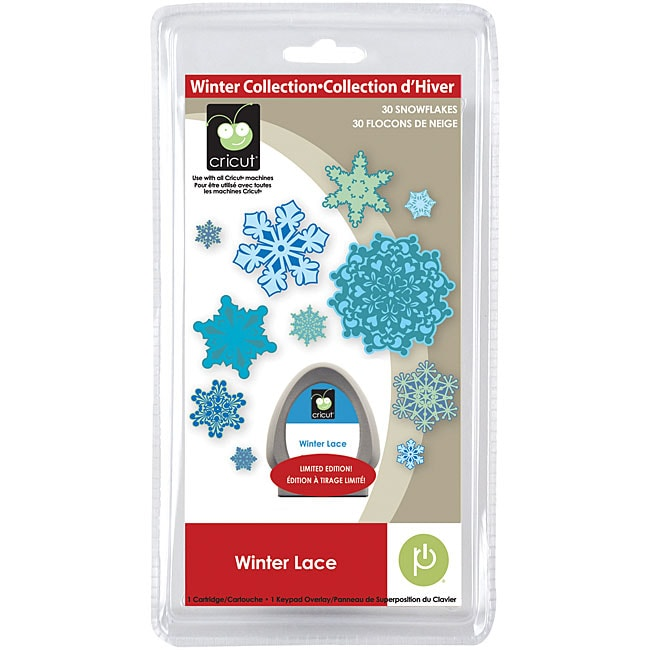 Cricut Seasonal Winter Lace Cartridge
