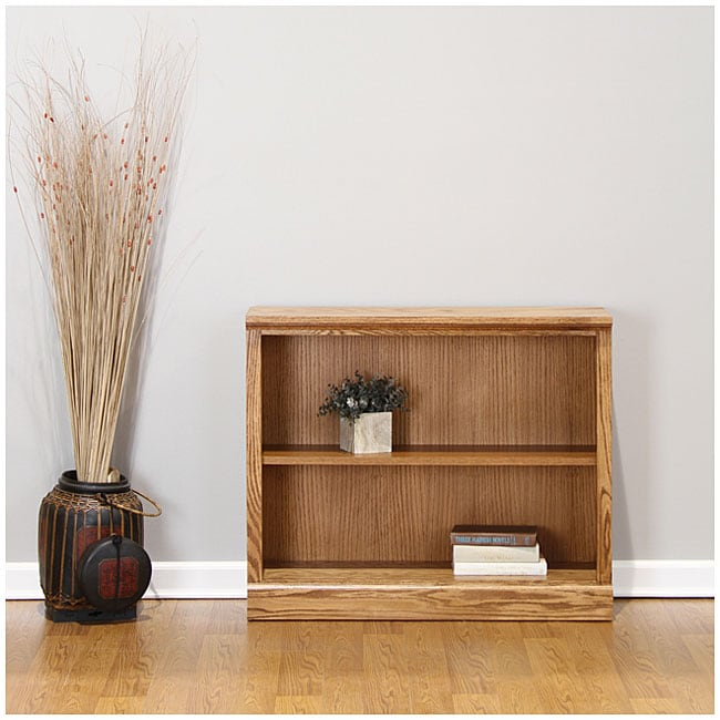 Castleton 30 Inch Mission Oak Bookcase Overstock Shopping Great Deals On Media Bookshelves