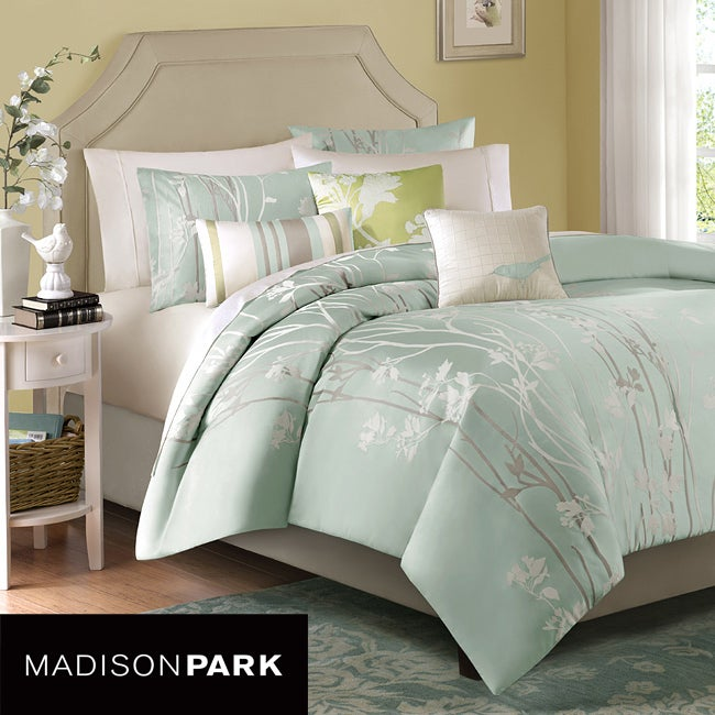 Madison Park Athena 6-piece King-size Duvet Cover Set