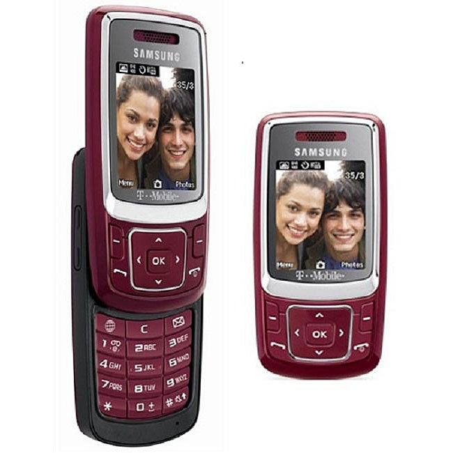 Samsung T239 Red Unlocked GSM Cell Phone