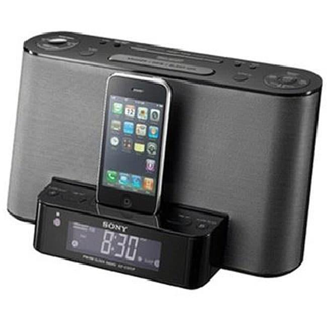 Sony ICFCS10IP AM/FM Clock Radio/ iPod Dock (Refurbished)