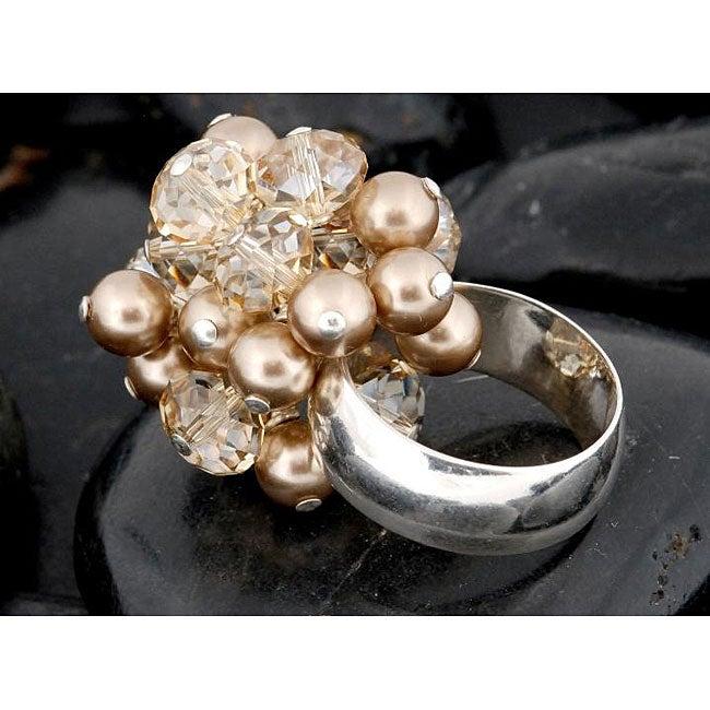 Sterling Silver 'Linda M' Friendship Ring (USA)