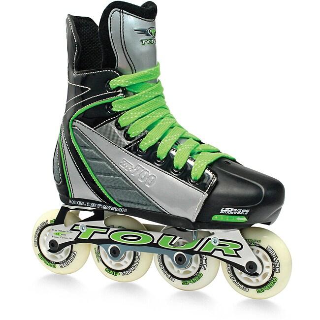 Tour Zt Adjustable Youth Inline Hockey Skates