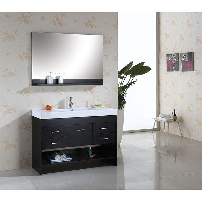 marcus 48 inch single sink bathroom vanity set 13299091 overstock