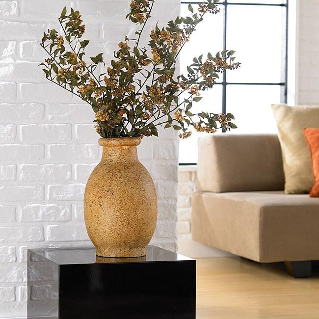 Natural Stoneware Small Decorative Vase (Indonesia)