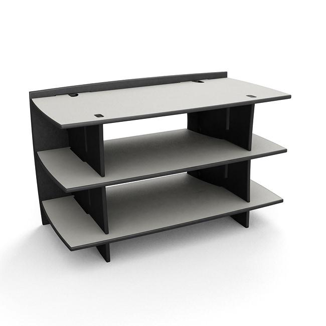 Legare Reversible Titanium/Black Media Stand