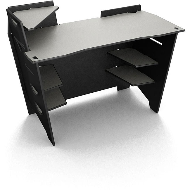 Legare 48-inch Reversible Black/ Titanium Desk