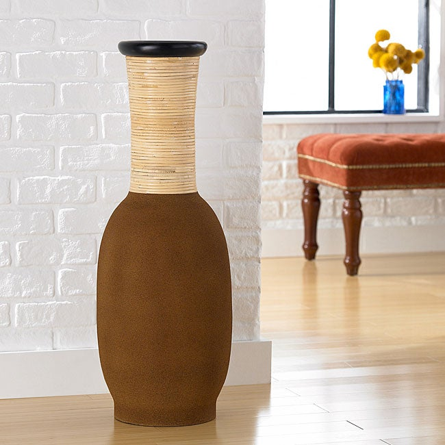 Clayworks Decorative Vase (Indonesia)