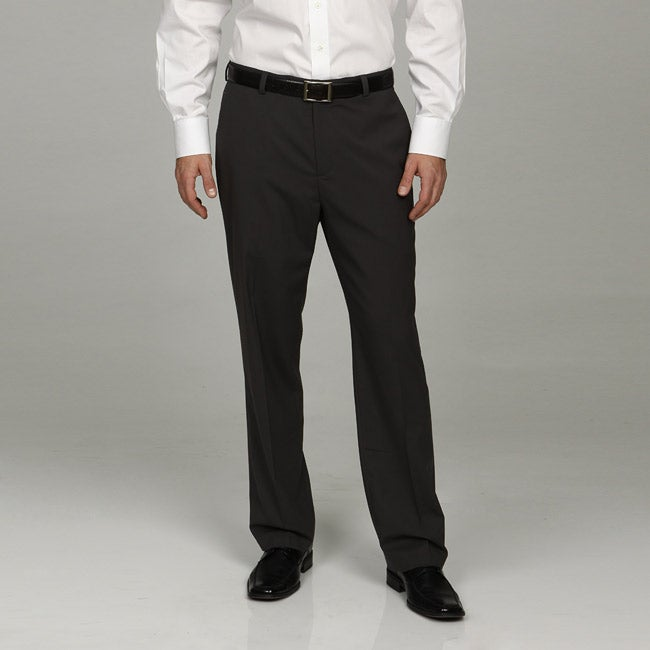 Kenneth Cole Reaction Men's Charcoal Dress Pant