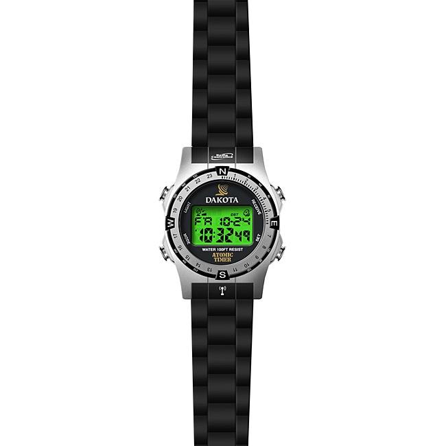 Dakota Mens Digital Radio Controlled Atomic Watch