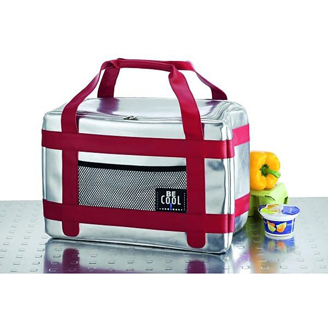 Red Vanilla Be Cool Red Large Sport lunch Box