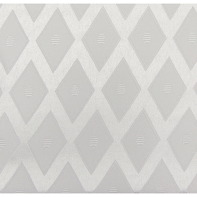 Overstock.com White Diamond Jacquard 57x95-inch Rectangular Tablecloth at Sears.com