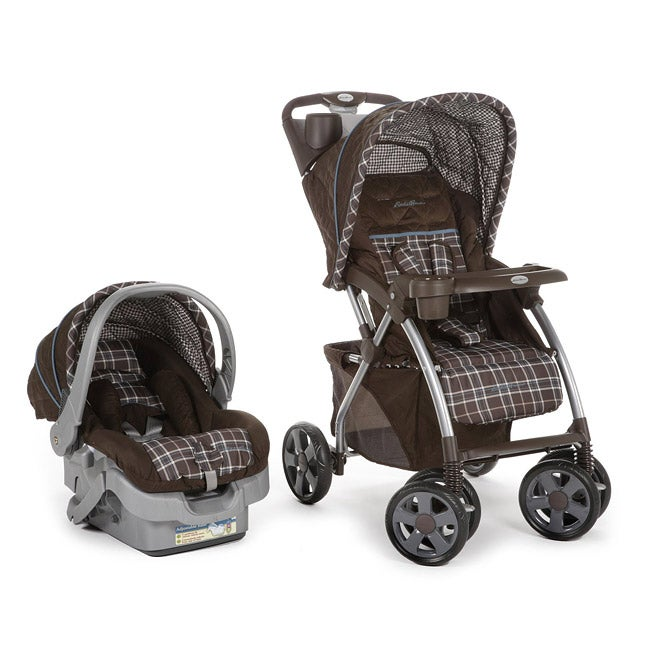 Overstock.com Eddie Bauer Adventurer Sport Travel System in Charter Atlantic Blue at Sears.com