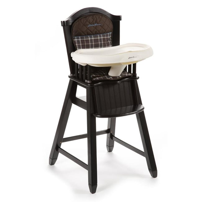 Overstock.com Eddie Bauer Wood High Chair in Charter Atlantic Blue at Sears.com
