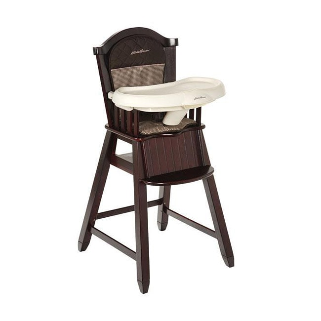 Ed Bauer Wood High Chair in Michelle