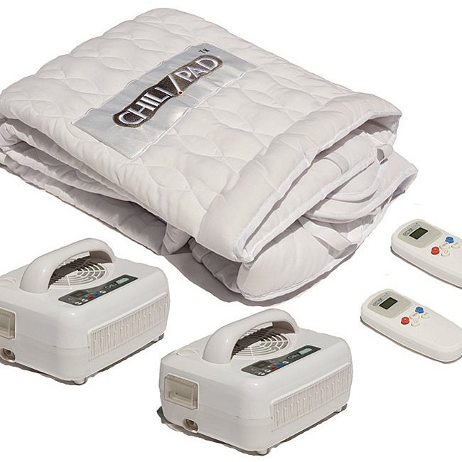 Comfort Code Temperature-controlled Dual Queen-size Mattress Pad