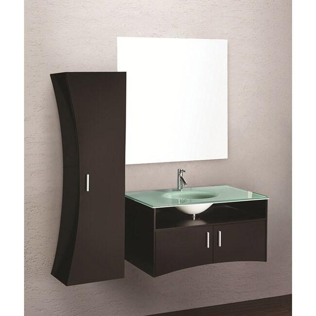 Design Element Ultra Modern Bathroom Vanity Set