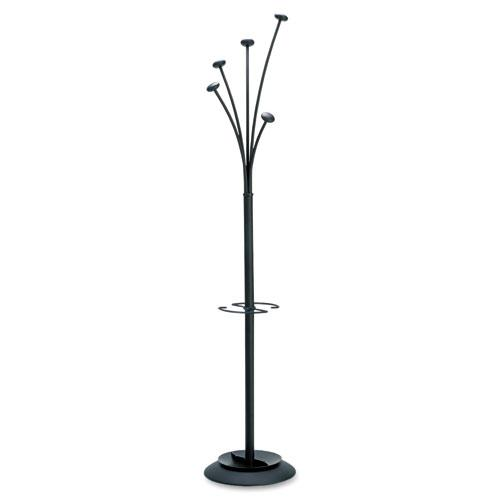 Alba Festival 5-Peg Black Coat Tree