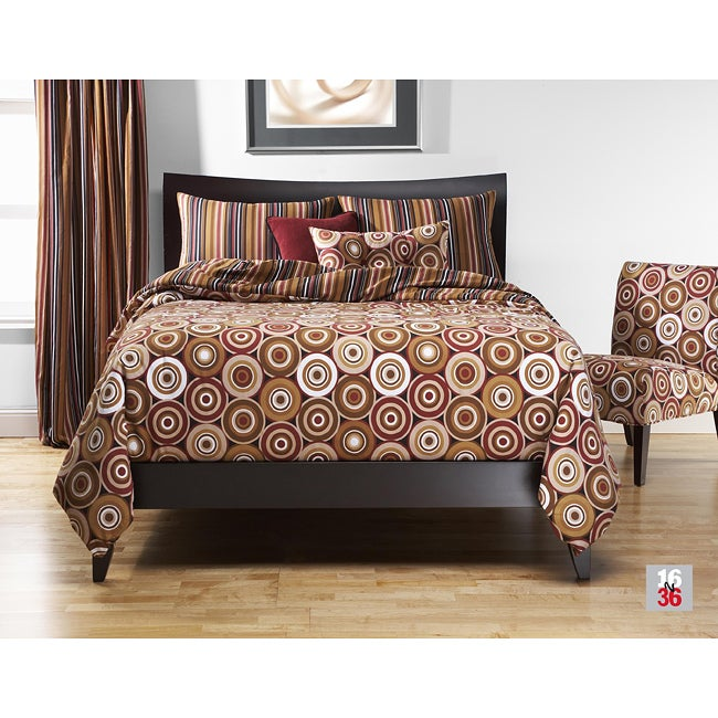 Rockin Around 5-pc Twin-size Duvet Cover and Insert Set