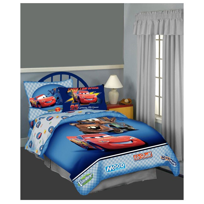 Disney Pixar Cars Full Size 5 Piece Bed In A Bag