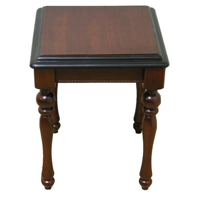Lifestyle Mahogany End Table