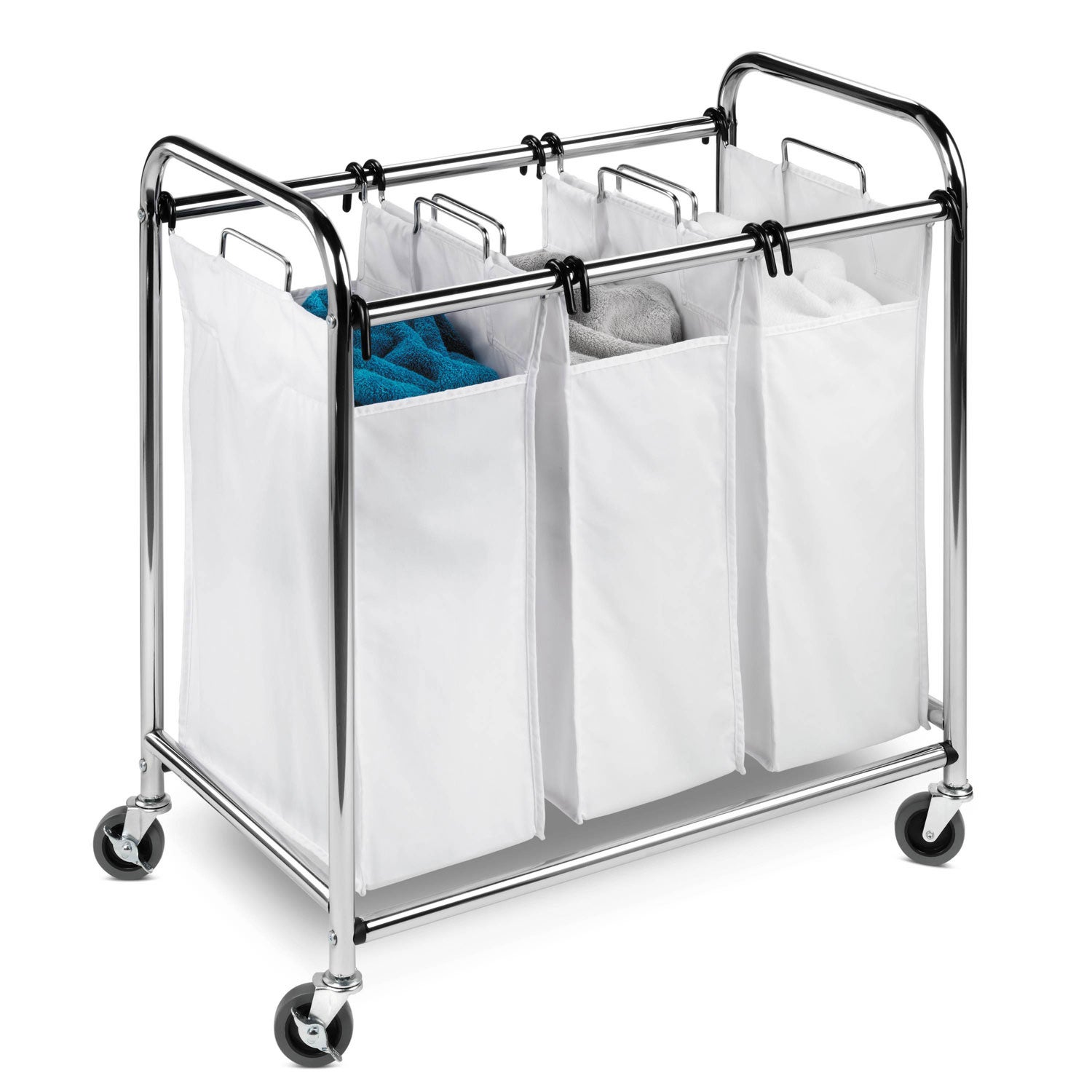 Honey-Can-Do SRT-01235 Triple Laundry Sorter at Sears.com