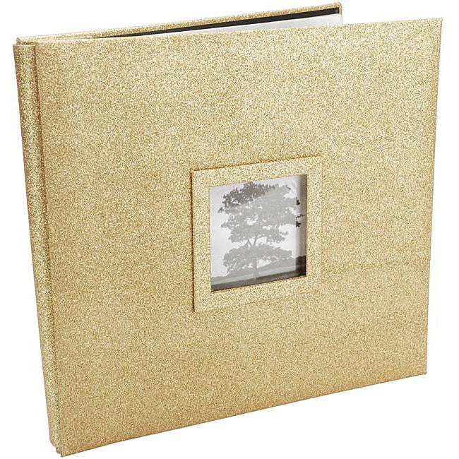 Martha Stewart Glitter Glitter Gold 12x12 Album
