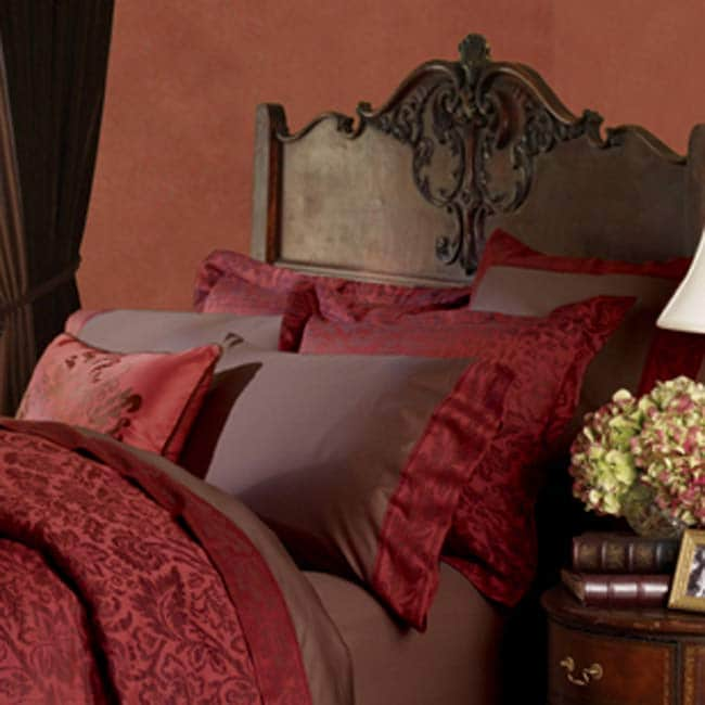 Nancy Koltes Veneto Sienna Pillowcases (Set of 2)
