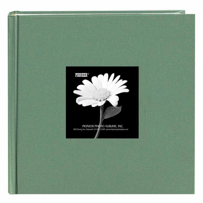 Crafts by O Pioneer Book-style Tranquil Aqua Frame Photo Albums (Pack of 2) at mygofer.com