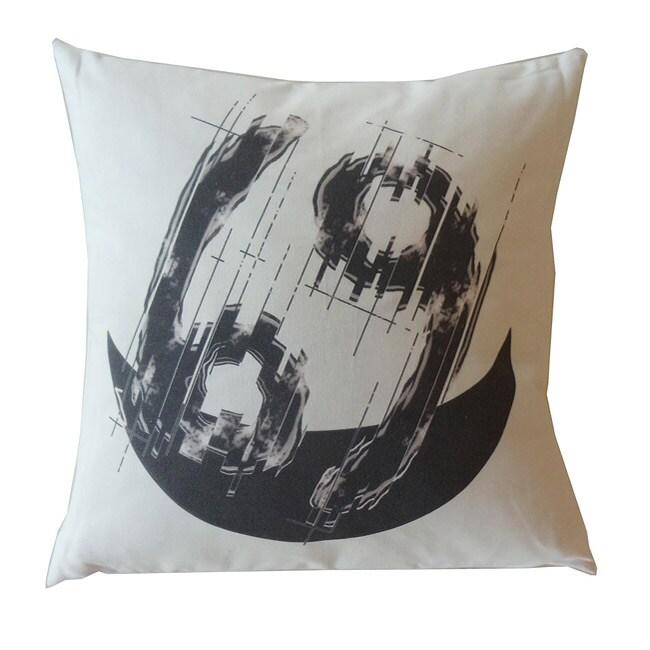Cancer Zodiac Sign Cotton Decorative Pillow