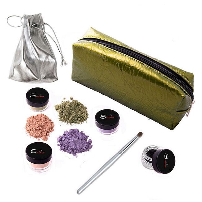 Sontarra Brown Eye Color Intensify Makeup Kit