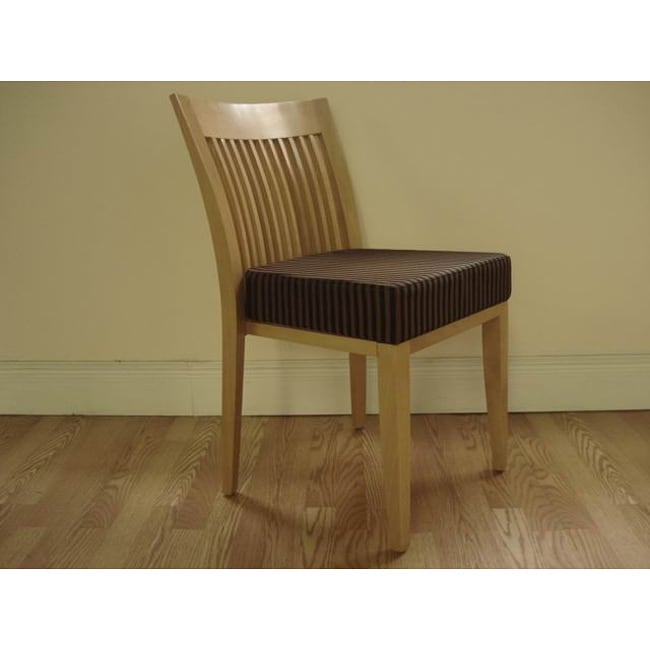 Da Vinci Stackable Natural Dining Chairs (Set of 2)