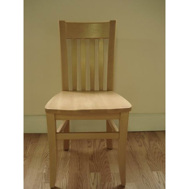 Jacob Natural Wood Dining Chairs (Set of 2)