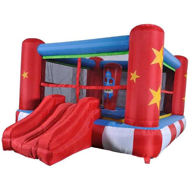 Inflatable Boxing Ring Bounce House