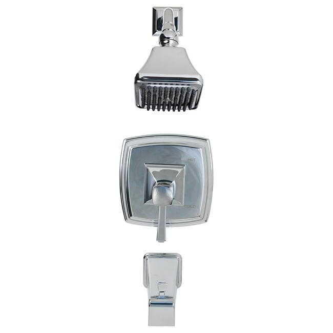 Danze Bellagio Chrome Single Handle Tub Shower Faucet   13382792