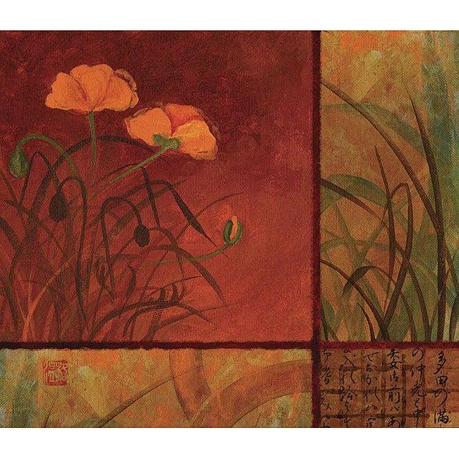 Studio Voltaire Poppy Autumn I Gallery wrapped Canvas Art