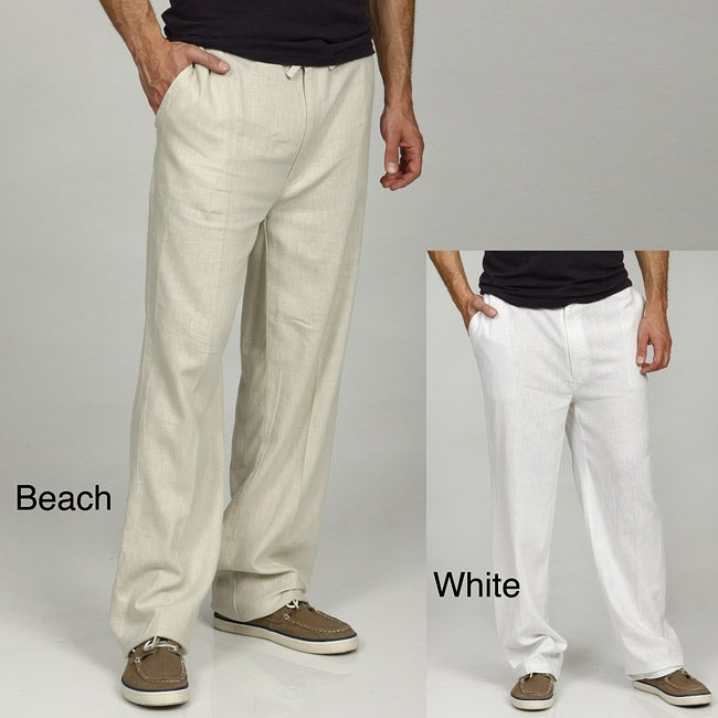 Drawstring Pants For Men Men 39 s Linen Drawstring Pants