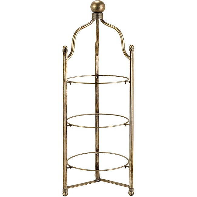 Tin Argento 3-tier Plate Holder