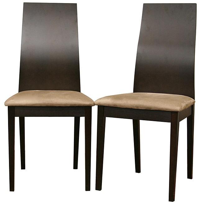 Lambert Dark Brown Dining Chairs (Set of 2)