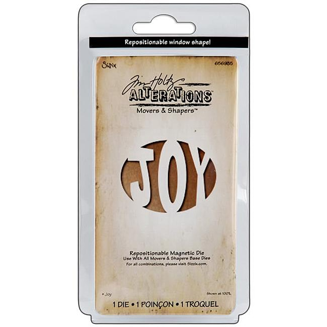 Sizzix Movers and Shapers 'Joy' Magnetic Die