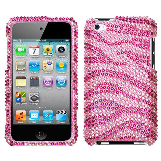 ipod touch pink zebra case