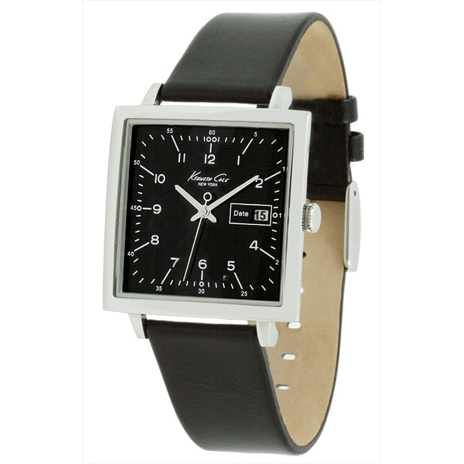 Kenneth Cole Men's Analog Quartz Leather Watch